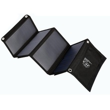 28W Outdoor folding Solar Panel USB Output Portable Foldable Power Bank waterproof travel High efficiency stability for phone