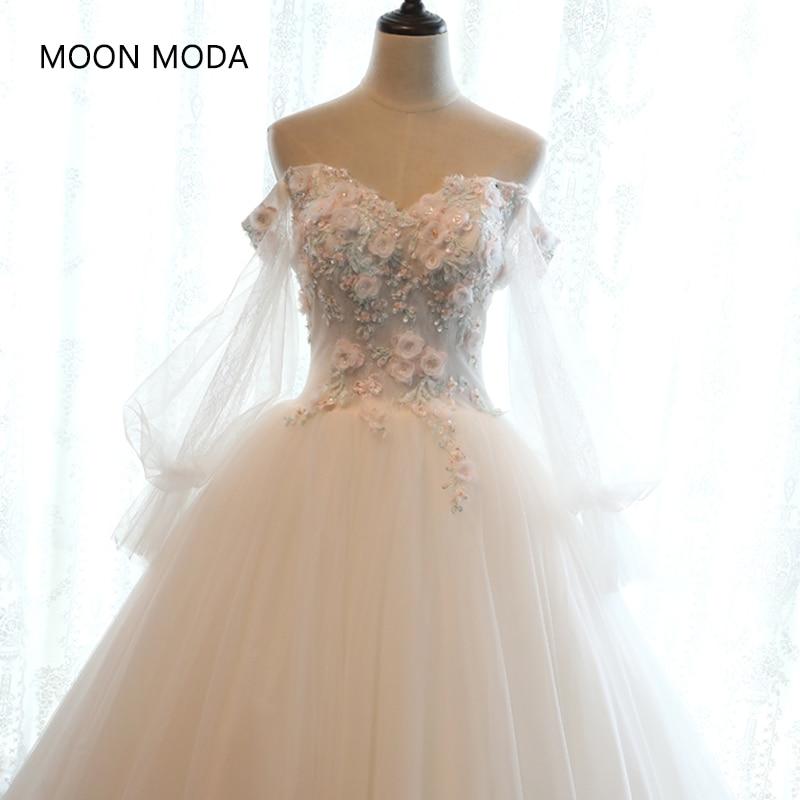 Boho vintage pizzo abito da sposa 2018 sposa semplice sheap bridal gown real photo weddingdress weding diserbo vestido de noiva