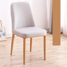 Modern Minimalist Dining Chair Wrought Iron Fashion Restaurant Leisure Chair Economical Nordic Dining Table Chair