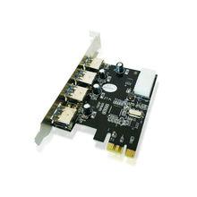 4 Порта USB 3.0 PCI Express Card PCIe USB 3.0 Хост-Контроллер 4 х USB3.0 5 ГБИТ VL805 chipest России оптовая