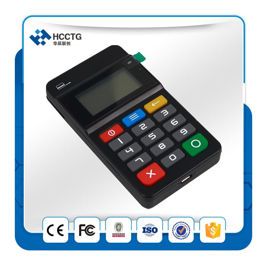 HTY7 Credit Card Swipe Machine Mini Bluetooth Bank Card POS Terminal Can Connect Mobile Phone