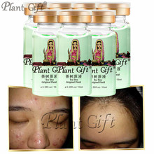 Plant Gift Hot Sale Tea Tree Original FluidTo Improve Blain To Imprint. Blain Blain Receded,  Skin Care 10ml*7pcs