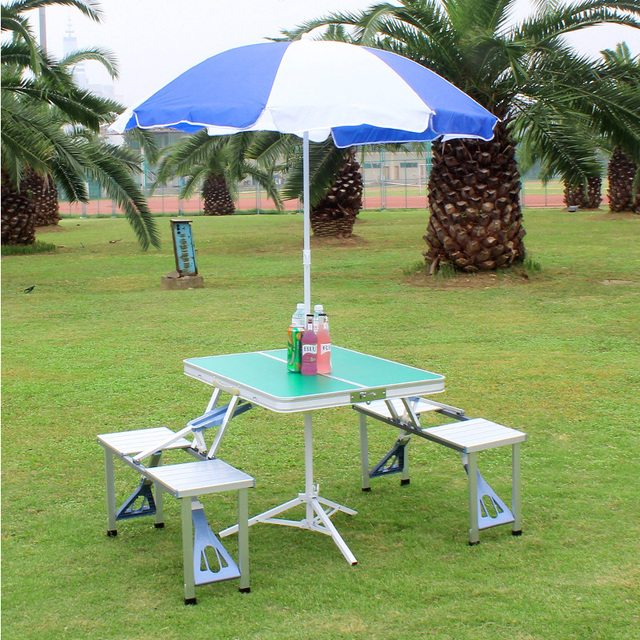 Outdoor Folding Picnic Table  3