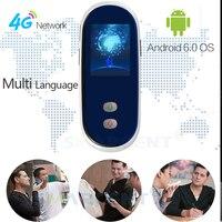 Smarcent новейший 4G сим смарт портативный переводчик 35 переводчик в режиме реального времени 2,4 дюймовый экран WIFi Android 6,0