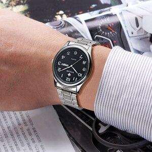Image 5 - Relogio Masculino WWOOR ยี่ห้อนาฬิกาผู้ชาย Quartz นาฬิกาผู้ชายกีฬานาฬิกาข้อมือนาฬิกาผู้ชายหรูหราสแตนเลสสตีลนาฬิกาข้อมือ