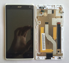 full new For Acer Liquid Z150 Duo / Z5 Dual SIM LCD Display Panel Screen + Digitizer Touch Screen Glass Assembly with Frame