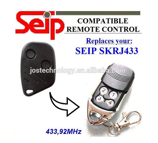 SEIP SKRJ433 garage door replacement remote control rolling code 433,92mhz after market doorhan remote doorhan garage door remote replacement rolling code top quality