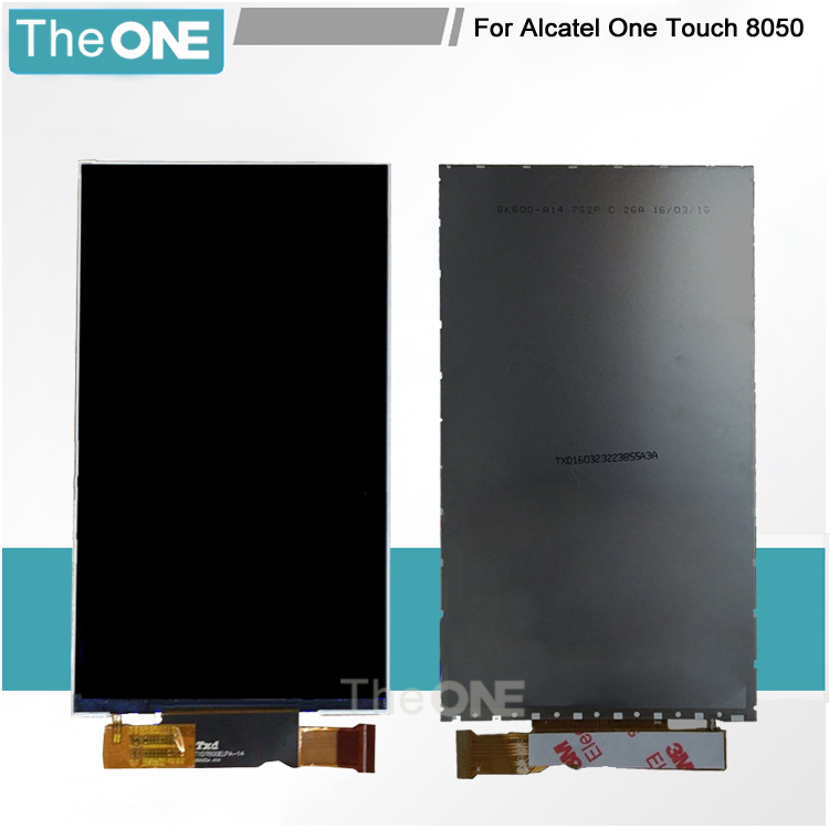 6.0 LCD Display Screen Repleacement For Alcatel One Touch Pixi 4 OT-8050D OT8050 8050D 8050 100% Tested Free Shipping