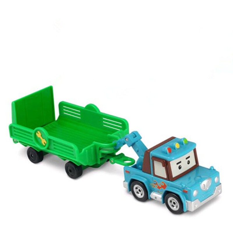 Kids Toys Robocar Poli Non-Deformation Diecast Metal Alloy Car Anime Action Figure Robot Car Toys For children Gifts mini robot deformation toys car model action figure gifts for children classic toy robocar transformation brinquedos page 6
