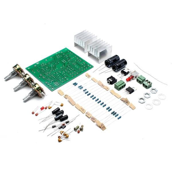 US $9 75 |12V 30W DIY TDA2030A 2 1 Subwoofer Amplifier Board 2x15W Dual  Channel Track Power Speaker Audio Bass Amp Circuit board-in Amplifier from