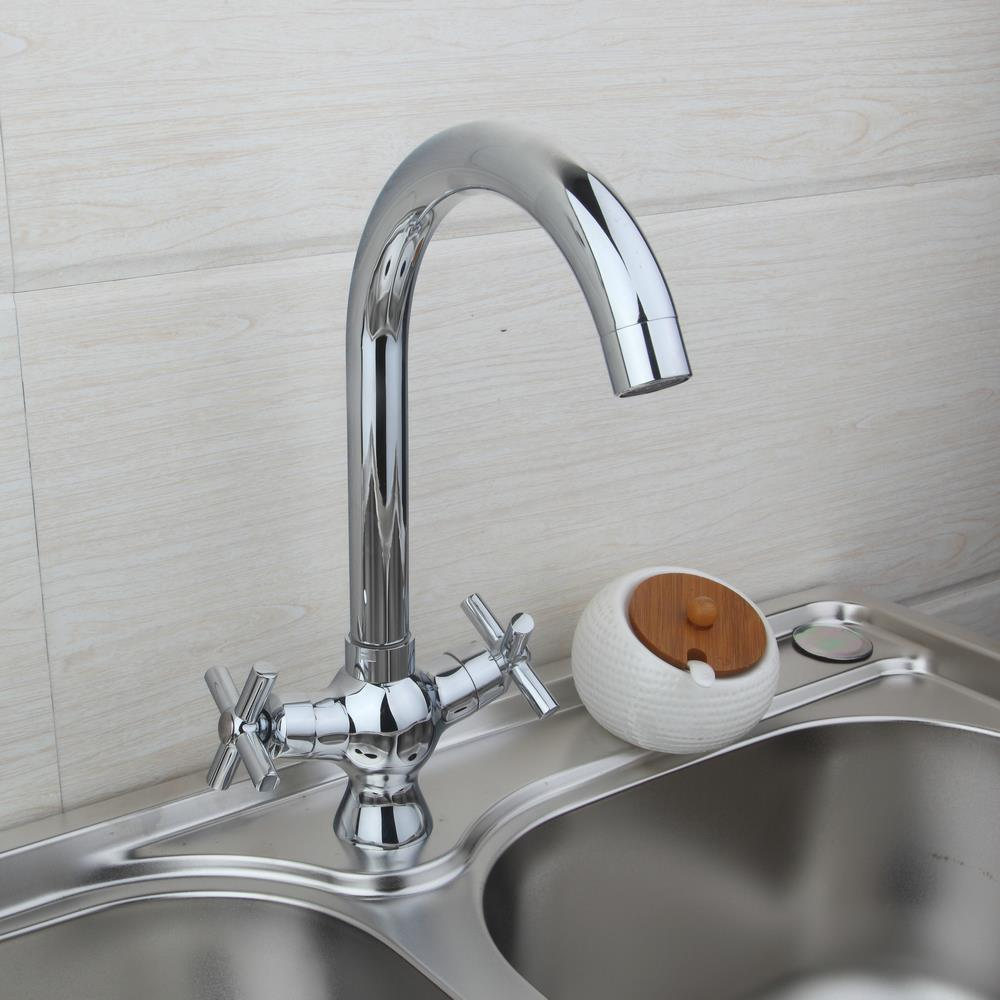 Solid Brass Kitchen Tap torneira da cozinha Water Tap Kitchen Mixer Cold Hot Water Kitchen Faucet