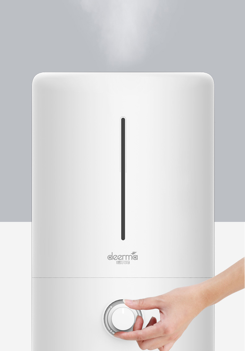 Original xiaomi Mijia deerma 5L Air Humidifier 35db quiet Air Purifying for Air-conditioned rooms Office household