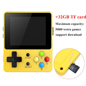 Image 4 - CoolBaby LDK children mini boy video handheld game players console retro video game console for Child Nostalgic Player Tetris