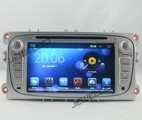 Quad core 1024*600 מסך HD אנדרואיד 7.1 DVD GPS ניווט רדיו עבור פורד מונדיאו, פוקוס, S-מקס, C-מקס, מעבר, גלקסי