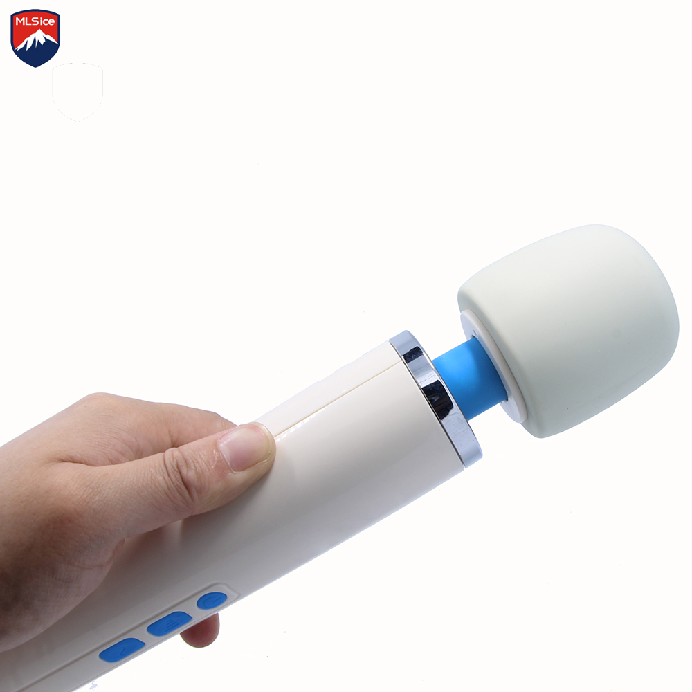 Mlisice Adult 30 speed AV Rechargeable Magic Wand Premium Wellness Full-Body Massage Wand Adult Sex Toy Products For Couples authentic 2015 hitachi magic wand original rechargeable with free $100 value premium antibacterial cleaner