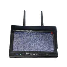 """RC732-DVR 32CH HD 7 """"5.8 GHz Diversidad Receptor FPV Monitor de Batería Incorporada"""