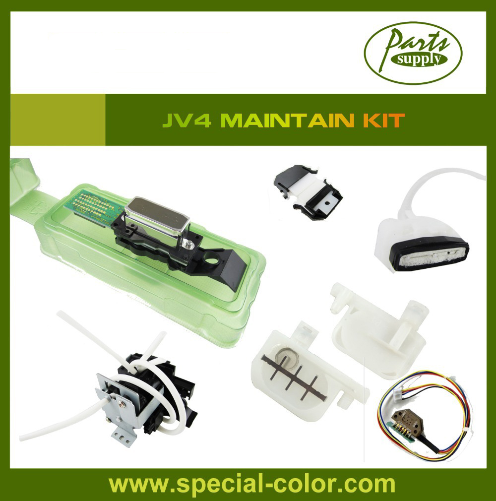 Mimaki JV4 Maintain Kit Original DX4 Waterbased Printhead+Waterbased Ink Pump+JV4 Encoder Sensor+Small Damper+Cap Top+Wiper roland sp540v maintain kit original dx4 solvent printhead big damper u ink pump cutting blade blade holder
