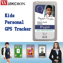 Kids GPS Tracker H91 ID Card Mini GSM GPRS tracker for student /Personal kids child Worker with SOS anti lost button