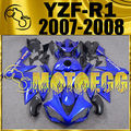 Motoegg Injection Mold For YAMAHA YZF R1 YZF-R1 YZFR1 Fairing Blue Y17M85 Motorcycle ABS plastic