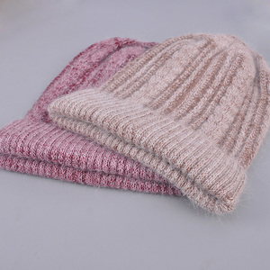 Image 5 - [Rancyword] good quality hats womens beanies hat Spring Autumn knitted with wool caps gorros New arrival popular RC1223 1