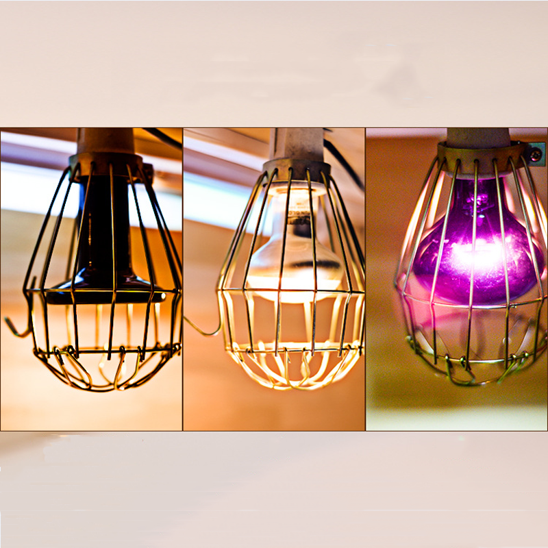 Hollow Lamp Shades Light Guard Cage Lampshade Pendant Light Bulb Guard Lamp Protective Net Industrial Lamp Covers