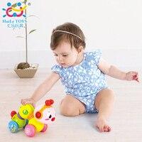 Baby Speelgoed met Muziek Educatief Musical Inchworm Druk-n-play Leuke Twist Speelgoed voor Baby Wandelen en Kruipen elektronische Huisdieren Geschenken