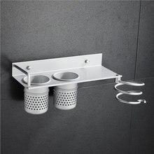 Многофункциональный без ржавчины фен Полка Ванная комната питания