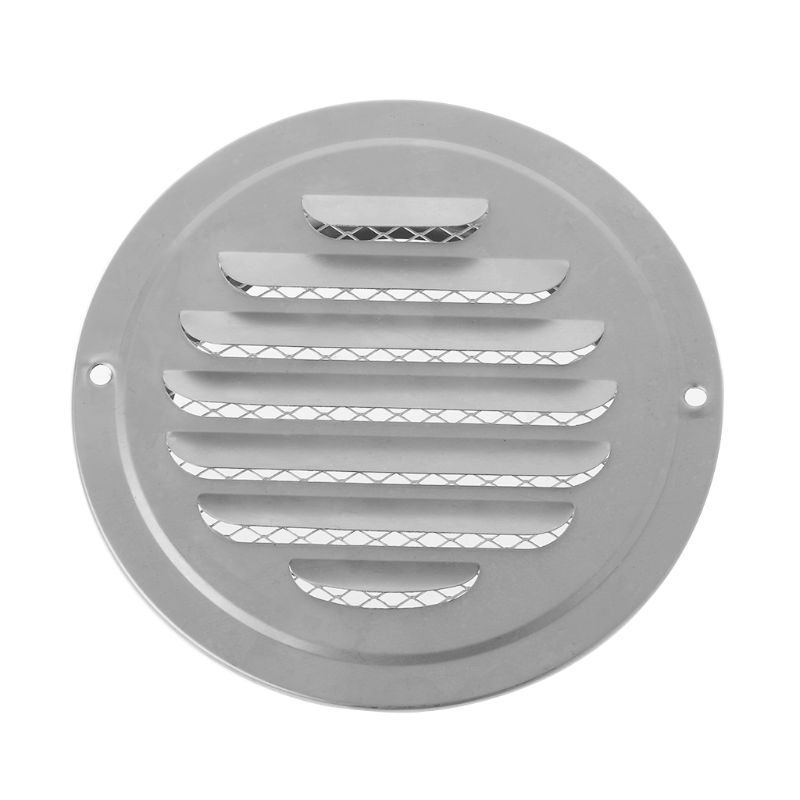 High Quality Stainless Steel Exterior Wall Air Vent Grille Round Ducting Ventilation Grilles
