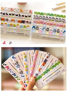 Image 5 - 36 pcs/Lot One point marker Post memo notes Animal birds cat penguin music marker stationery office  School supplies A6783