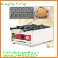 High Efficiency Electric Taiyaki Machine / Commercial Fish Waffle Maker Machines Price