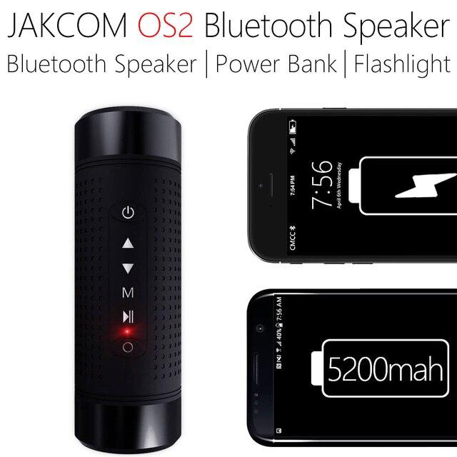Беспроводная велосипедная Колонка JAKCOM OS2, Bluetooth Колонка s для спорта, музыки, басов, освещения, внешнего аккумулятора, FM радио