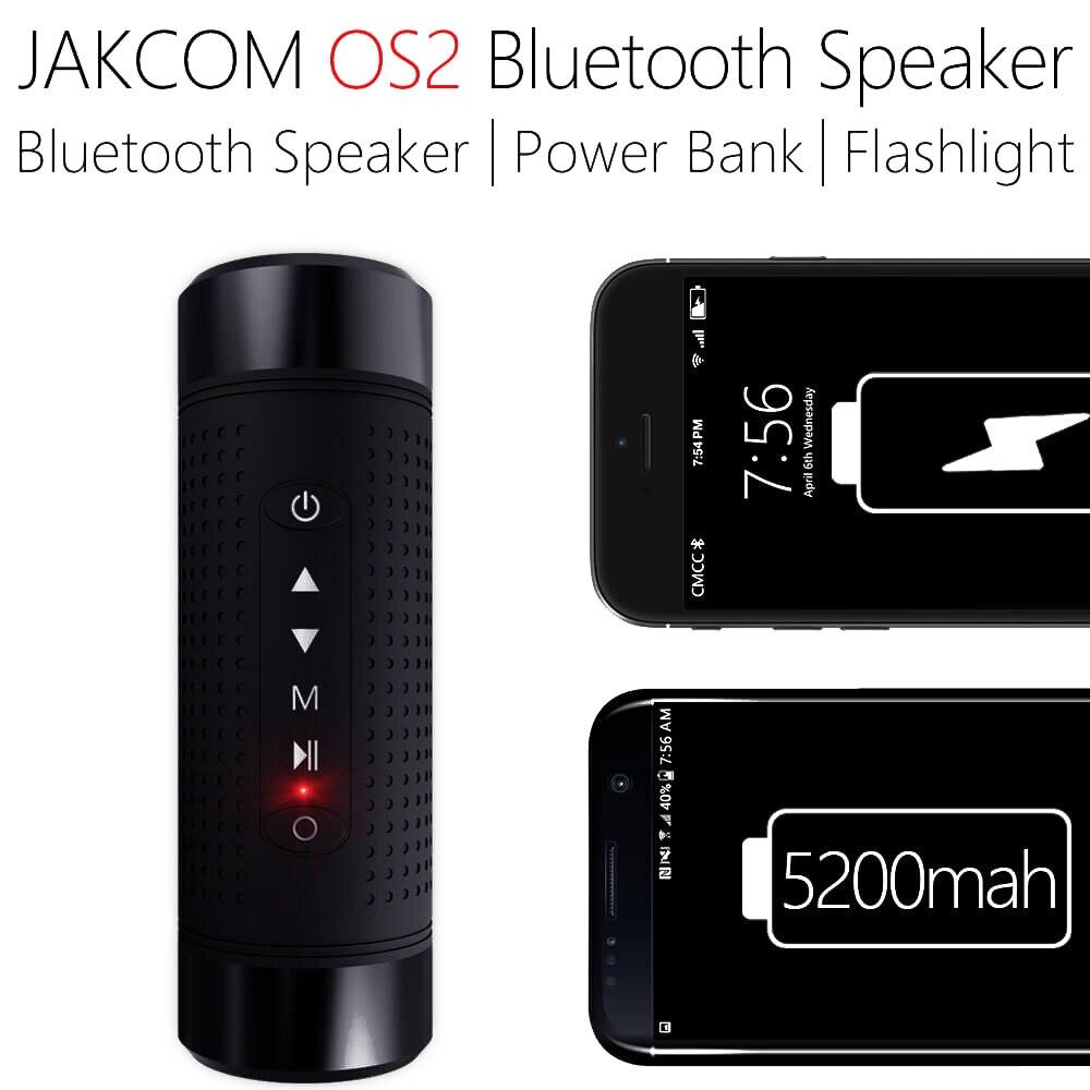 Беспроводная велосипедная Колонка JAKCOM OS2, Bluetooth-Колонка s для спорта, музыки, басов, освещения, внешнего аккумулятора, FM-радио