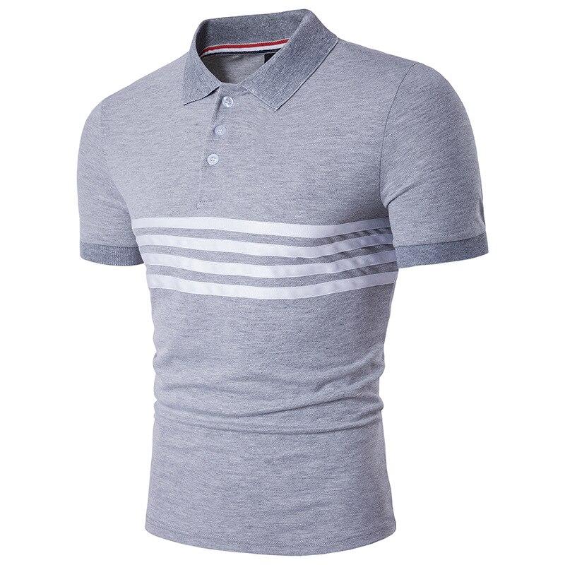 Nova banda contratada lazer polo camisas com mangas curtas e confortável fit  homens polo camisa em Polo de Dos homens de Roupas no AliExpress.com  14fcf27966216