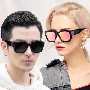 Image 2 - 편광 된 Fit over 선글라스 커버 오버레이 처방 안경 근시 남자 여자 자동차 드라이버 대형 전송 안경