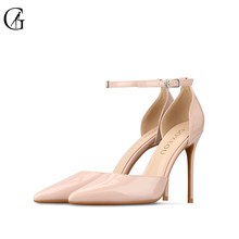 Купить с кэшбэком Brand Womens shoes High heels Sexy pointed teo Thin heels Pumps Star products Business Party office 2017 Night-club Custom-made