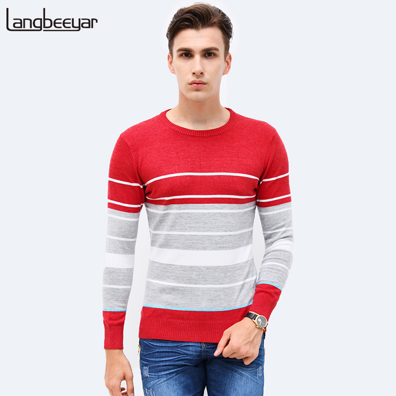 2017 Autumn Winter Fashion Brand Clothing font b Men b font Knitted font b Sweater b