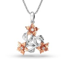 imixlot 2019 Fashion Rose Gold Choker Necklace Simple Wild Flower Pendant Chain Statement Jewelry for Women Collares