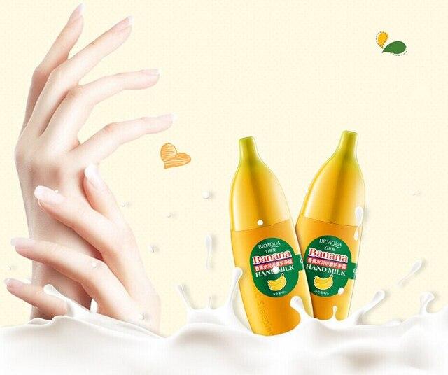 BIOAQUA Banana Milk Hand Cream 40g Moisturizing Nourish Anti-chapping Hand Care Lotions Handcreme Skin Defender