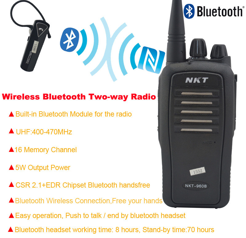 Bluetooth walkie talkie uhf 400 470mhz 16ch 4w built in bluetooth bluetooth walkie talkie uhf 400 470 mhz built in modulo bluetooth portatile radio a asfbconference2016 Image collections