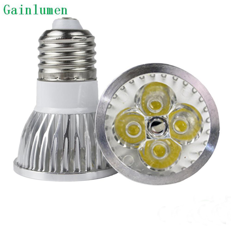 free shpping 10pcs lot 9w led spot light high power bulb e27 cool white warm white non dimmable. Black Bedroom Furniture Sets. Home Design Ideas
