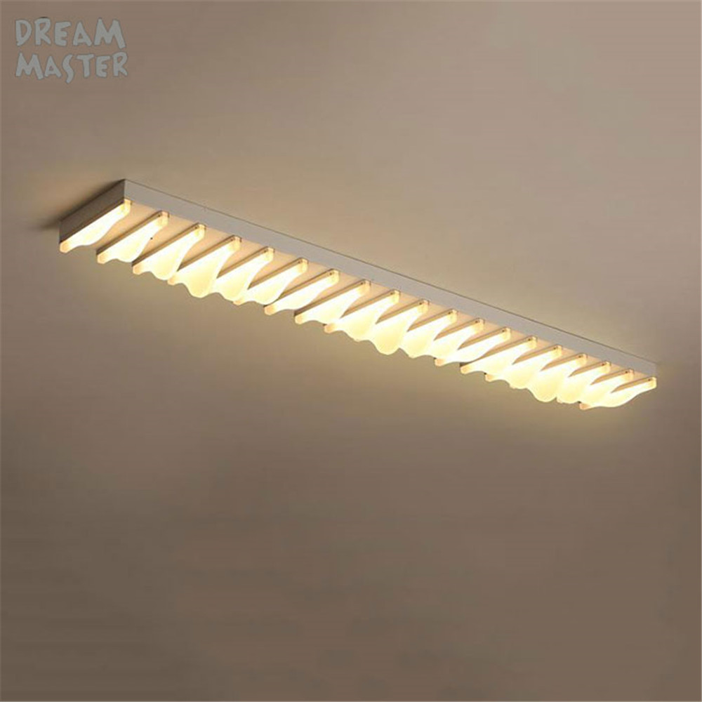 Modern led ceiling light long surface mount lighting bedroom kitchen living room wall sconces for art gallery decoration lamp