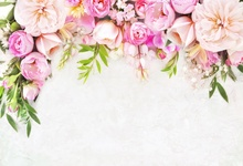Laeacco Flowers Lace Leaves Simple Scene Photography Backgrounds Customized Photographic Backdrop For Photo Studio