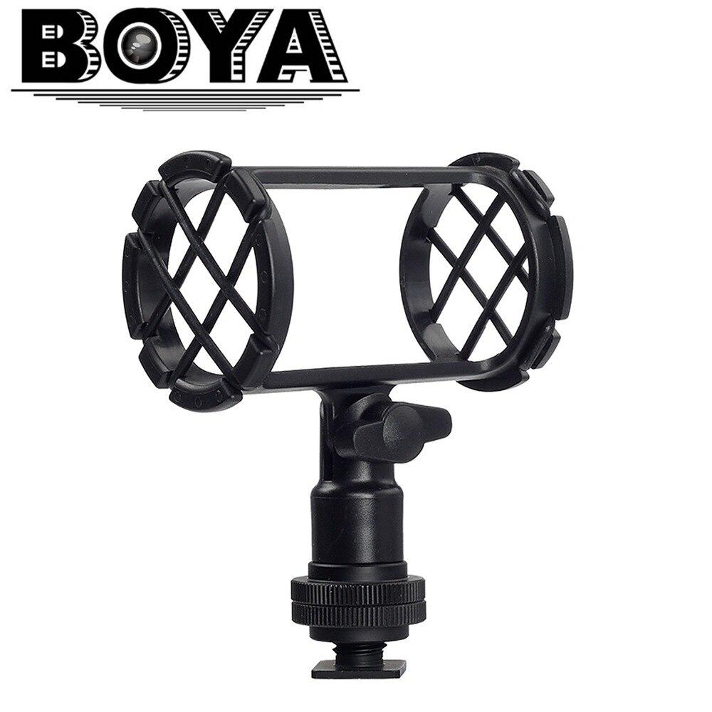 BOYA BY-C04 Kamera Video Shock Mount pro RODE NT4 BOYA BY-PM1000 Shotgun mikrofony 19-25mm v průměru
