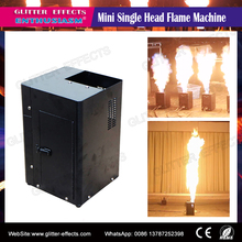 DJ Stage show Effect DMX square Mini fire flame projector for night club