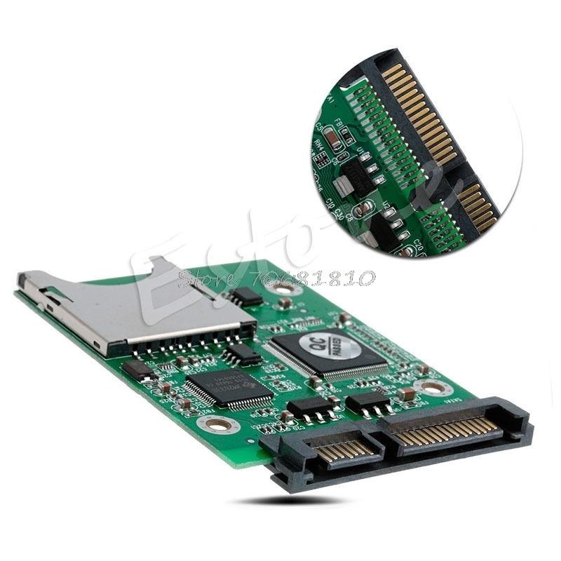 Erfinderisch Sd Sdhc Mmc Raid Zu Sata Adapter Konverter Unterstützt 32g Kapazität Sd Karte Drop Shipping Computer & Büro