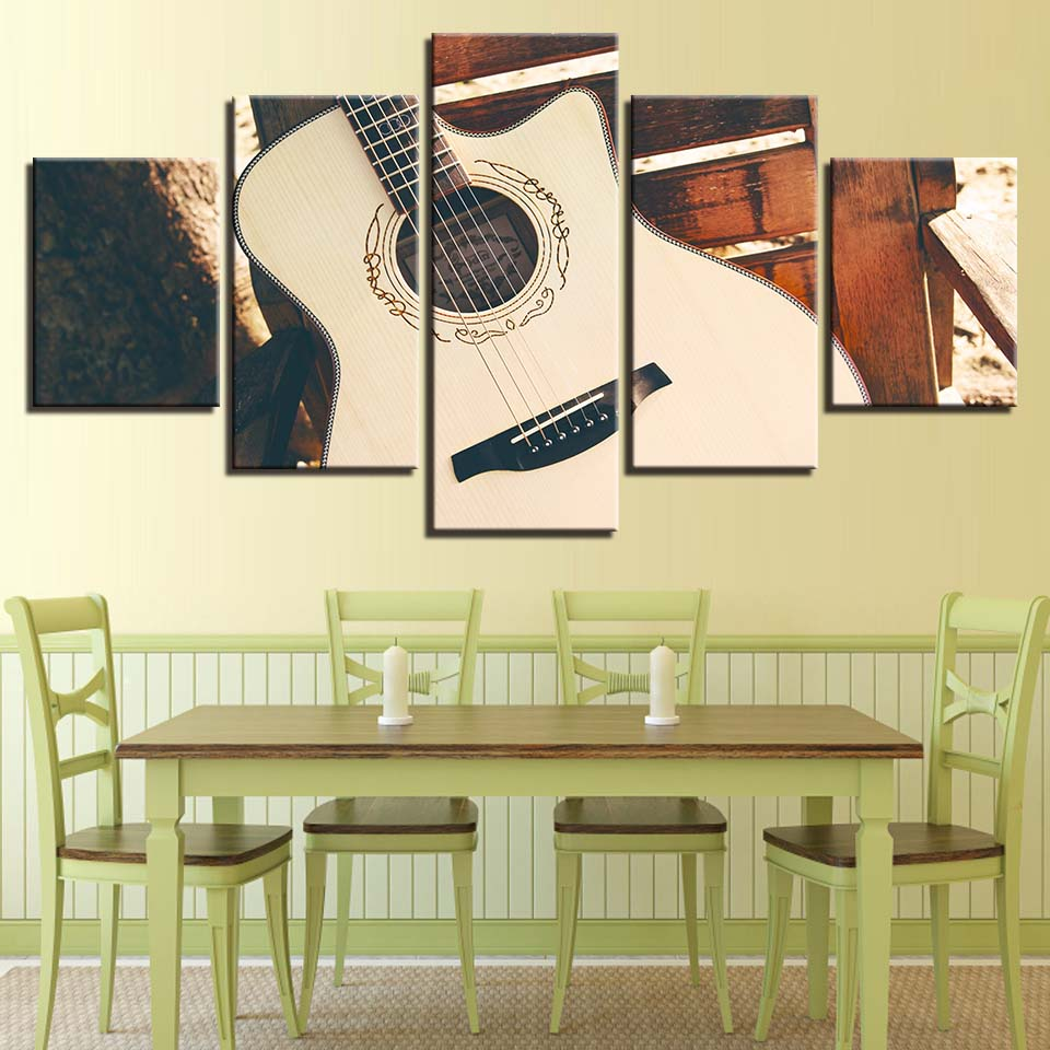 Canvas Wall Art HD Prints Pictures Home Decor Living Room 5 Pieces ...