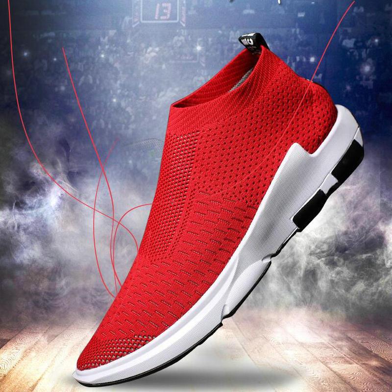 Footwear Baseball-Shoes Summer Slipon New Mesh Male Breathable Calzado-De-Homb Fashion