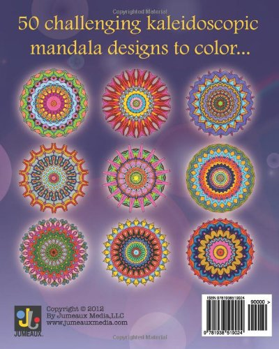 Kaleidoscope Mandalas Coloring Book Volume 1 English Adult Books Art In From Office School Supplies On Aliexpress