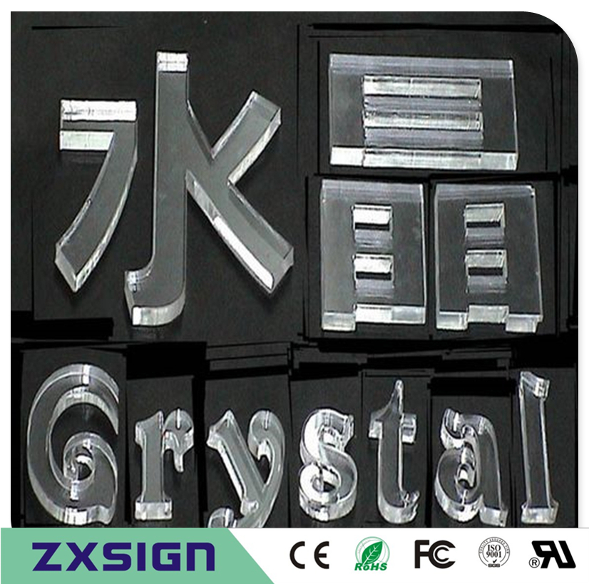 Acrylic-Letters Numbers Plexiglass Shop Sign Outdoor for on Window And
