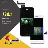 Ovsnovo 5PCS All Check Test Work Perfect LCD Ecran For IPhone 7 7plus LCD Display Touch